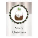 Christmas Pudding Postcards