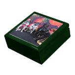 Christmas Pug Bruno Pearl Ms Wiggles - ChiPom Bear Gift Box