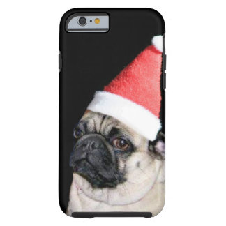 christmas pug tough iPhone 6 case