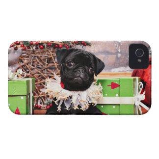 Christmas - Pug - Daisy Mae Case-Mate Blackberry Case