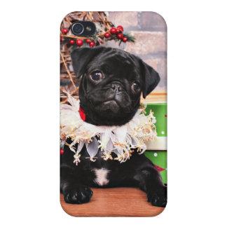 Christmas - Pug - Daisy Mae Covers For iPhone 4