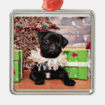 Christmas - Pug - Daisy Mae Christmas Tree Ornament