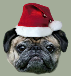 814c98a1bde Make Your Own Christmas Pug Blanket - Bundle Up In Yours Today!
