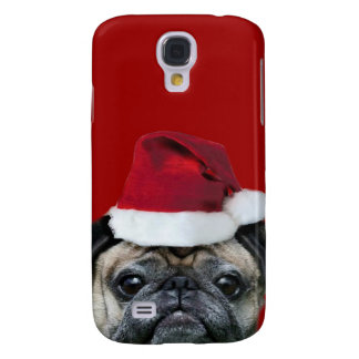 Christmas pug iphone 3g Speck Case Samsung Galaxy S4 Covers