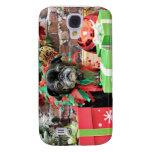 Christmas - Pug - Michaelis Samsung Galaxy S4 Cases