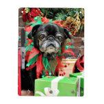 Christmas - Pug - Michaelis Dry-Erase Whiteboard