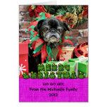 Christmas - Pug - Penny Card