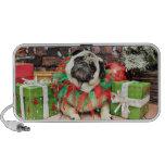 Christmas - Pug - Spencer Travel Speaker