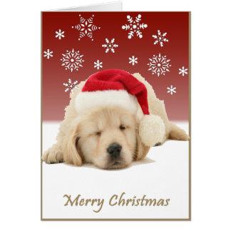 Christmas Pup Card