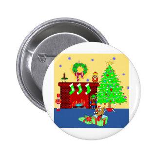 Christmas Puppy Pin