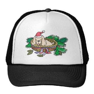 Christmas Puppy Trucker Hat