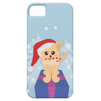 Christmas Puppy iPhone SE/5/5s Case