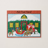 Christmas Puzzle Personalize