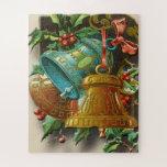"Christmas puzzle vintage bells<br><div class=""desc"">Christmas,  puzzle,  games,  toys,  vintage,  bells,  card,  celebration,  december,  happy</div>"