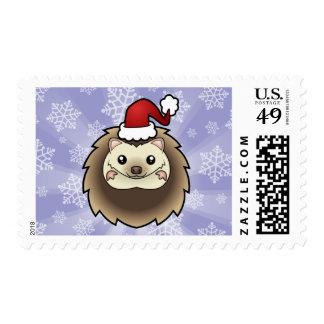 Christmas Pygmy Hedgehog Postage