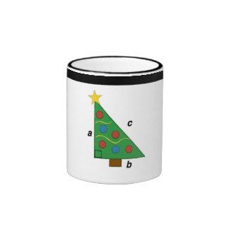 Christmas Pythagorean Theorem Tree Mug