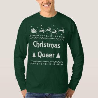 Christmas Queer Ugly Sweater LGBT Pride