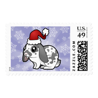 Christmas Rabbit (floppy ear smooth hair) Postage