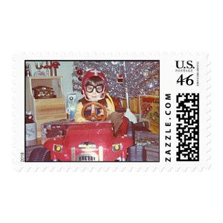 Christmas Racer Postage