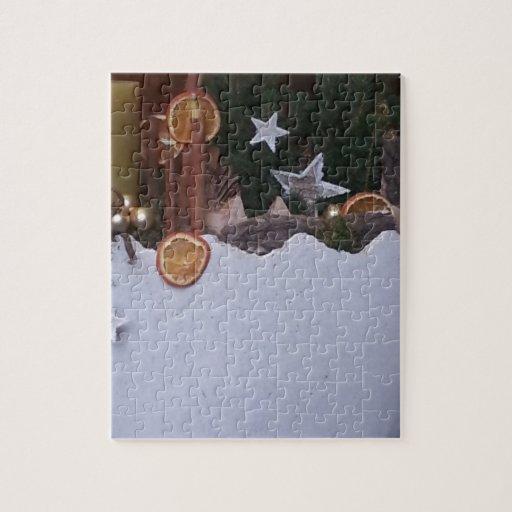 Christmas ración de deco puzzle con fotos