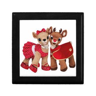 christmas raindeers gift box