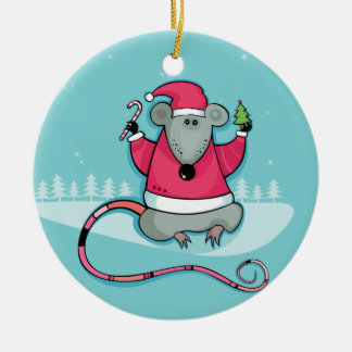 Christmas Rat Ornament
