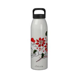 Christmas Rat Reusable Water Bottle