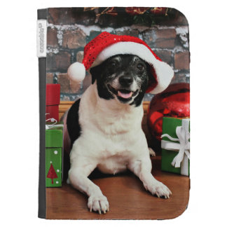 Christmas - Rat Terrier - Sparky Kindle Covers