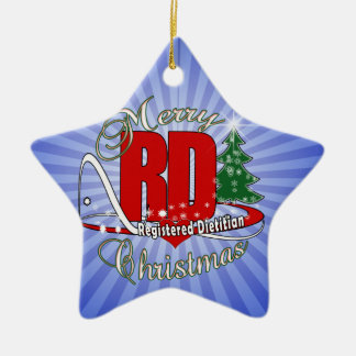 CHRISTMAS RD REGISTERED DIETITIAN CHRISTMAS TREE ORNAMENTS