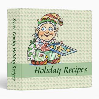 Christmas Recipe binder