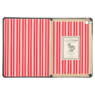 Christmas Red and White Stripes Case For iPad Air