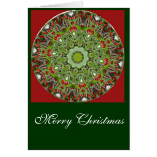 Christmas Red Berries 2 Greeting Card