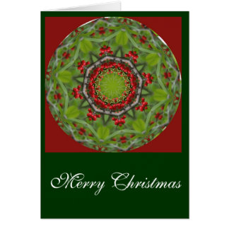 Christmas Red Berries Greeting Card