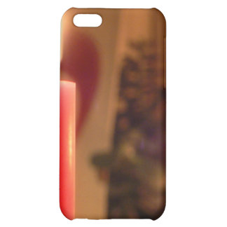 Christmas Red candles iPhone 5C Case