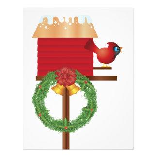 Christmas Red Cardinal Flyer