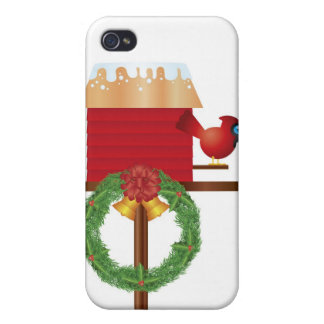 Christmas Red Cardinal Speck Case