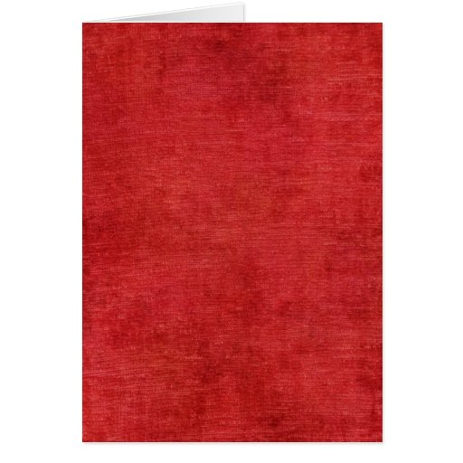 Christmas Red Chenille Fabric Texture Card