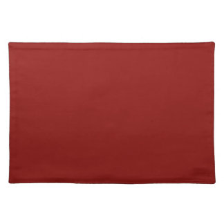 Christmas Red Crimson Color Trend Blank Template Place Mats