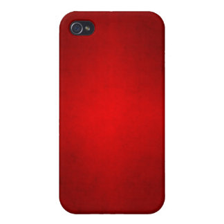 Christmas Red Crimson Parchment Gradient Template iPhone 4/4S Case