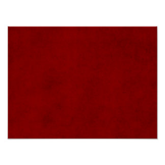 Christmas Red Crimson Parchment Paper Template Poster