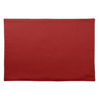 Christmas Red Deep Burgundy Color Trend Template Placemats