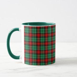 Christmas Red Green Plaid Coffee Mug