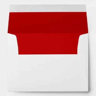 Christmas Red Greeting Card Envelope