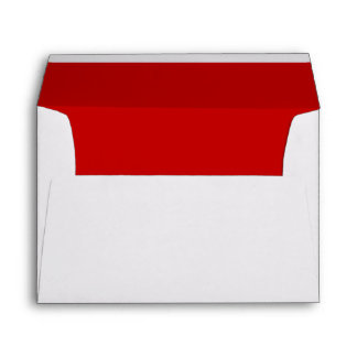 Christmas Red Greeting Card Envelopes