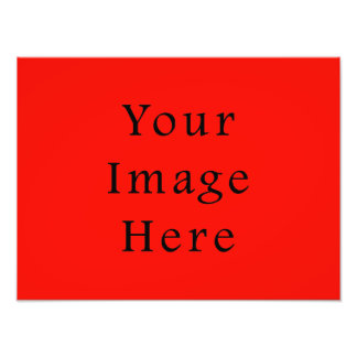 Christmas Red Holiday Spirit Color Trend Template Photo Print