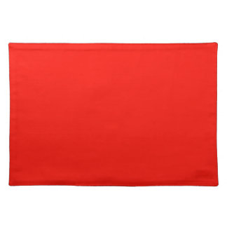 Christmas Red Holiday Spirit Color Trend Template Placemat