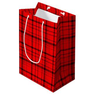 Christmas Red Medium Gift Bag
