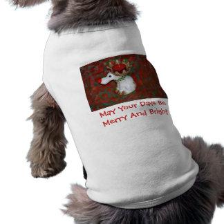 Christmas Red Nose Reindeer Moose Shirt