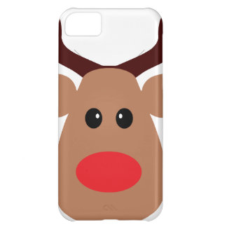 Christmas Red Nosed Reindeer iPhone 5C Cover