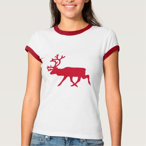 Christmas Red Reindeer Shirts